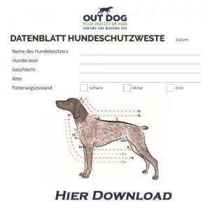 Datenblatt Hundeschutzwesten
