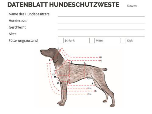 Outdog Messdatenblatt steht zur Verfügung